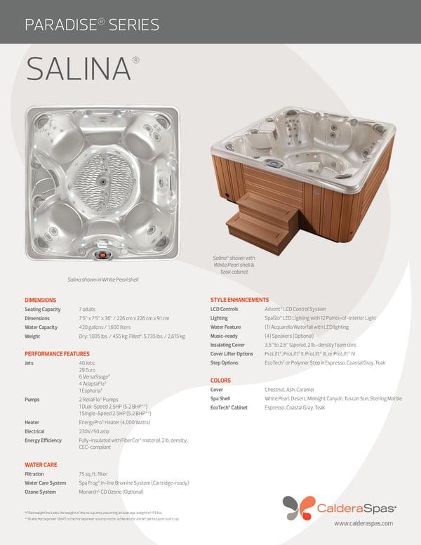 Caldera Paradise Series Salina
