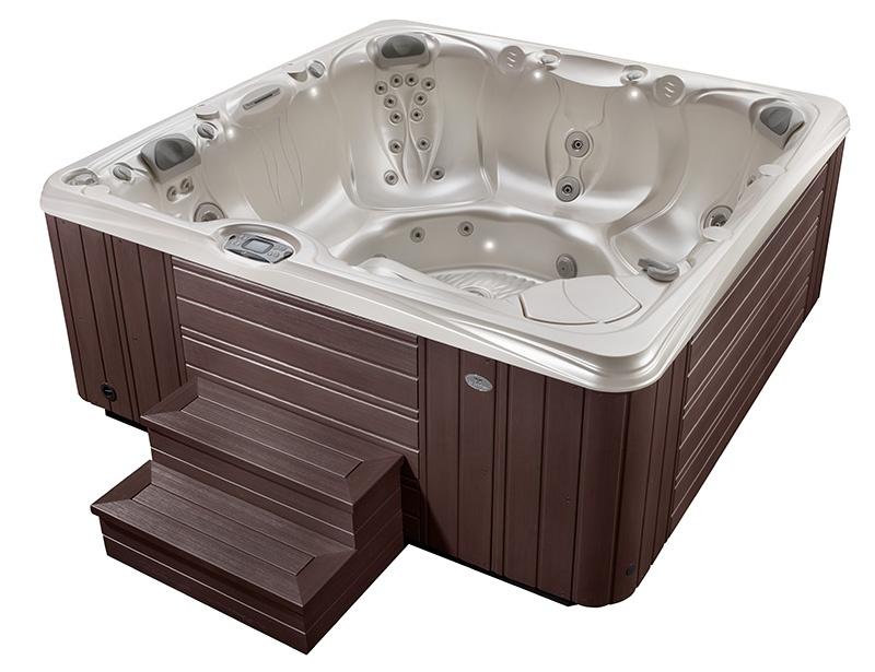 hot tub cost mid-range model