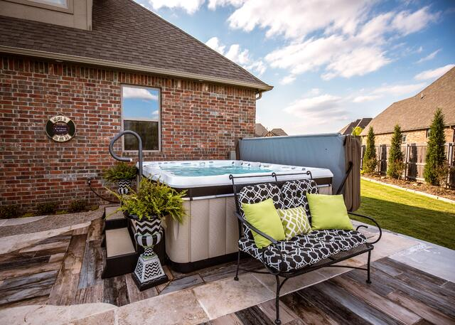 cost of hot tub