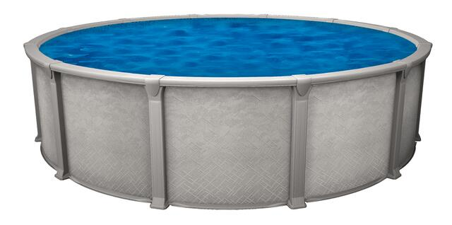 all resin above ground pool
