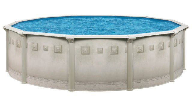 all metal above ground pool