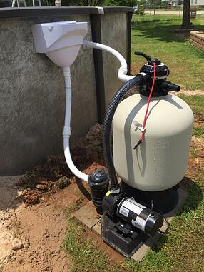 Pool Pump & Filter System